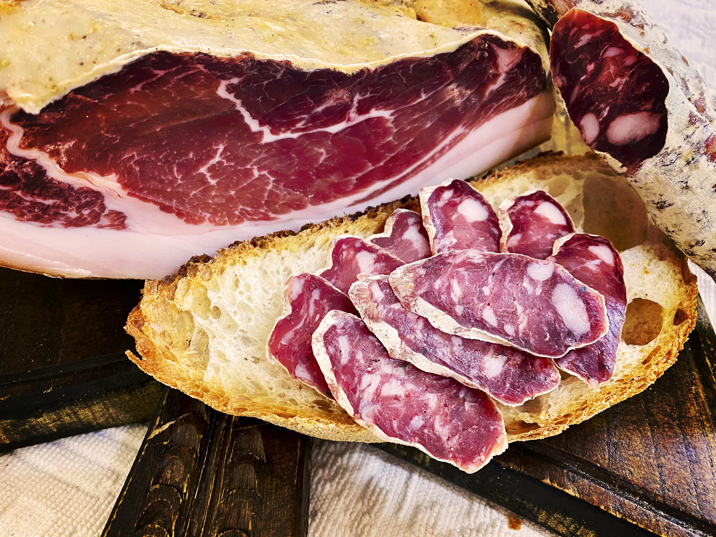 Solo carni SARDE selezionate, garantite e certificate
